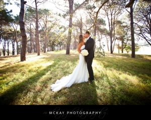 Megan Chris Centennial Park wedding
