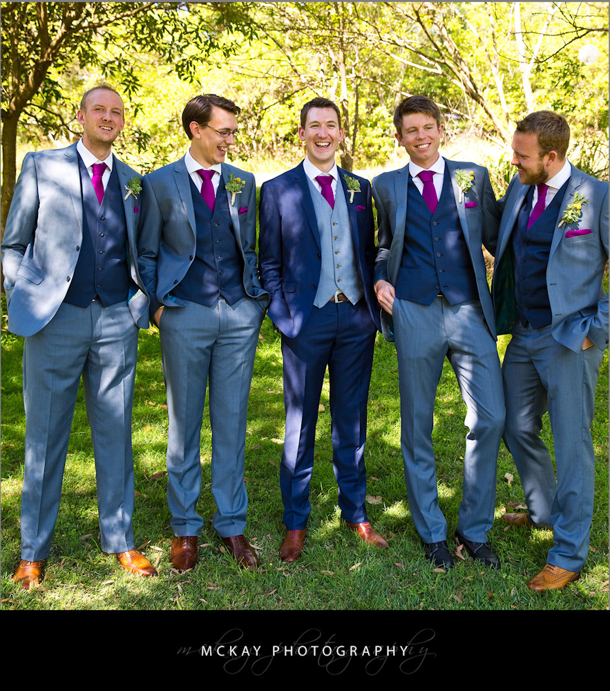 Andy and groomsmen