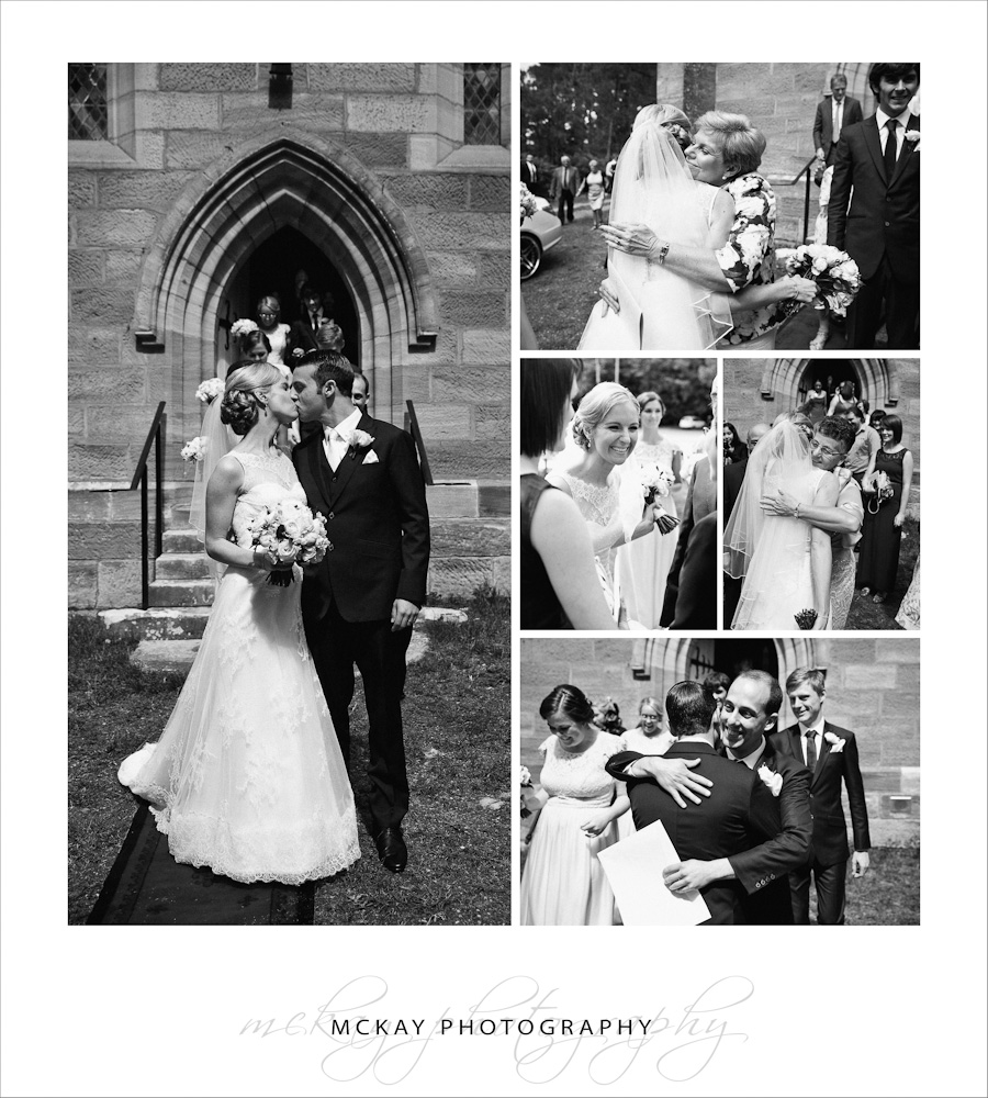 Wedding at St Francis Xavier Berrima