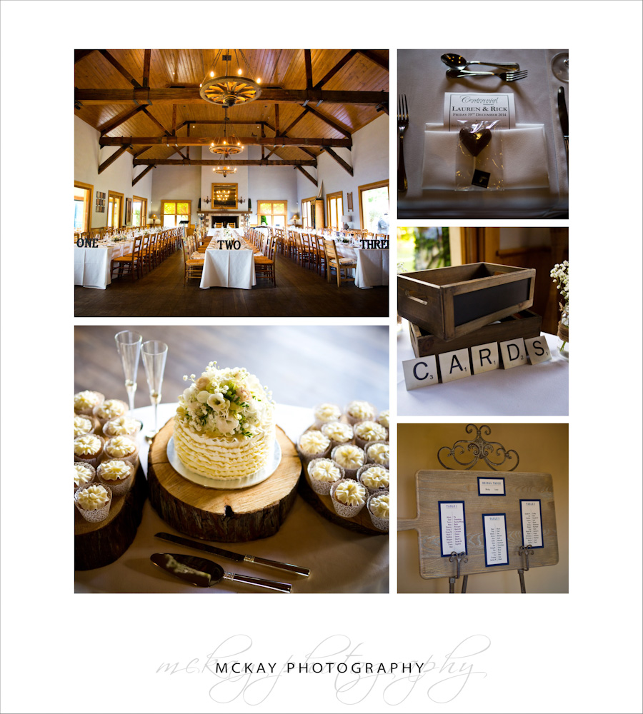 Centennial Vineyards wedding details