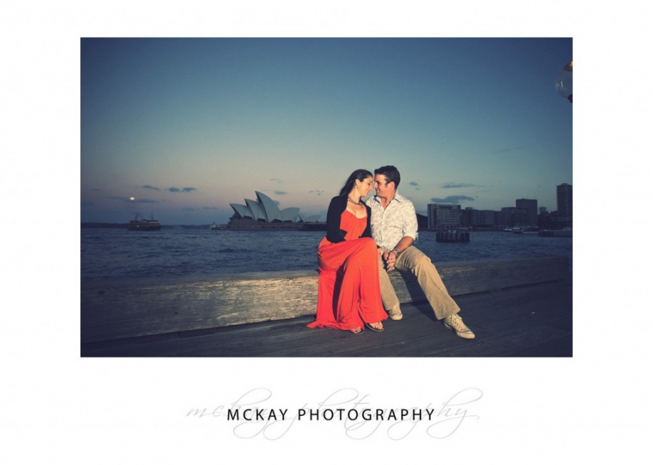 Opera House Engagement shoot Sydney