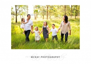 relaxed natural family photos Bowral