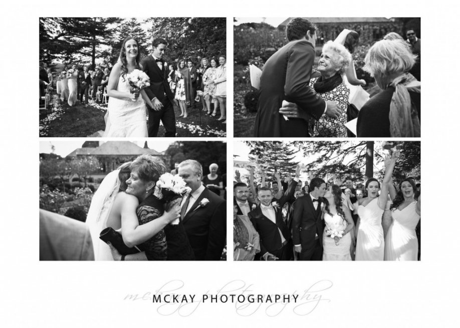 Wedding ceremony Bendooley Estate Bowral