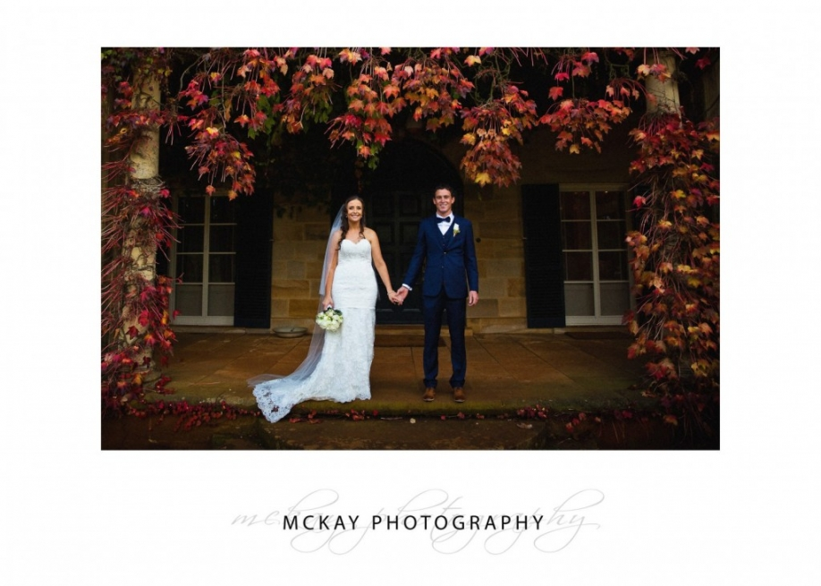 Bendooley Estate autumn wedding
