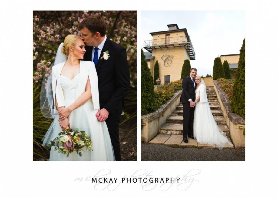 Cherry blossoms wedding Bowral