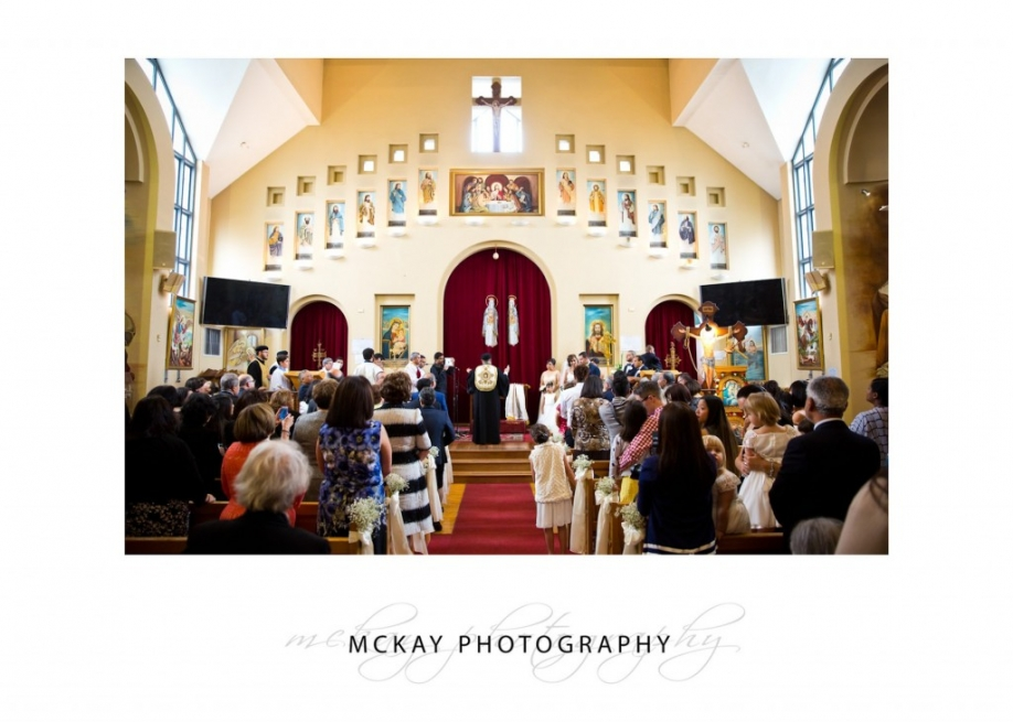 Interior photo of St Mary Coptic Orthodox Church Rhodes