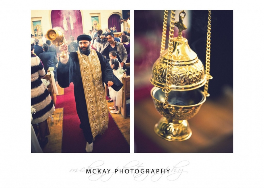 Detail photos of coptic orthodox ceremony