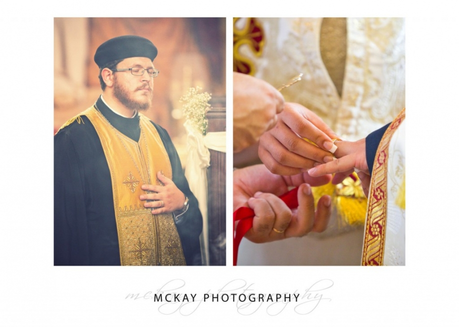 Wedding ceremony detail photos of coptic orthodox
