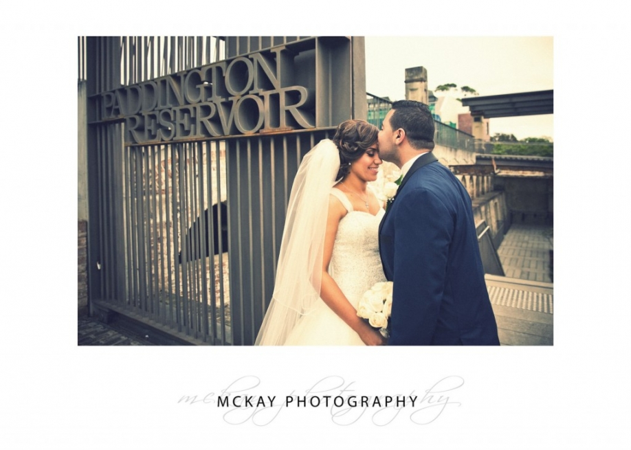 Wedding photography at Paddington Reservoir