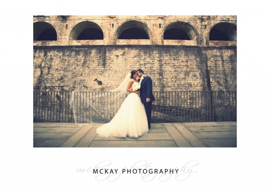 Wedding photos at Paddington Reservoir