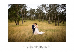 Long grass wedding photo Bowral
