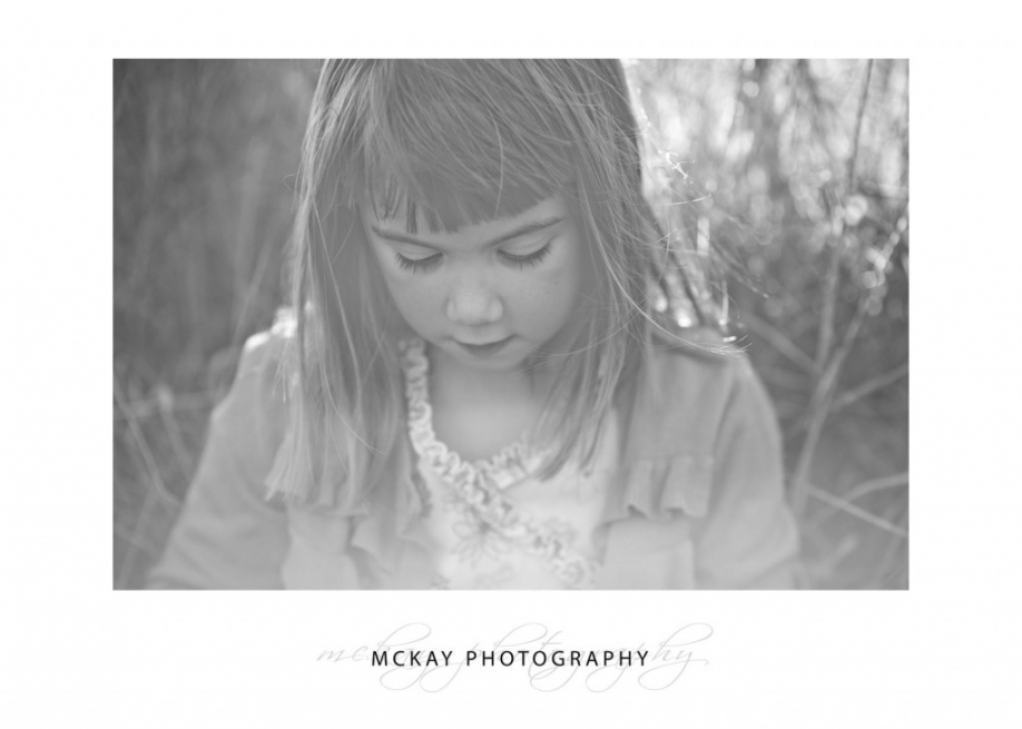 Black and white childrens photos Bowral