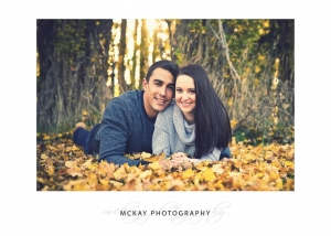 Grass field engagement photos autumn Bowral