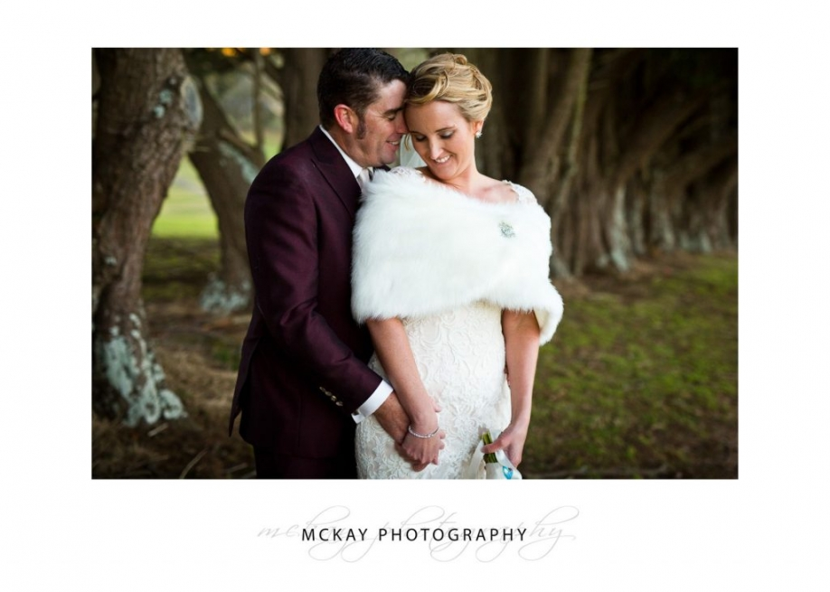 Winter wedding photo Bowral Southern Highlands
