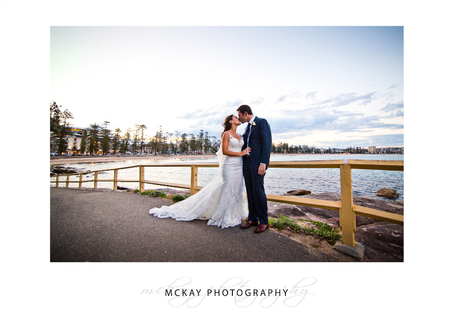 Wedding photo at Manly Point