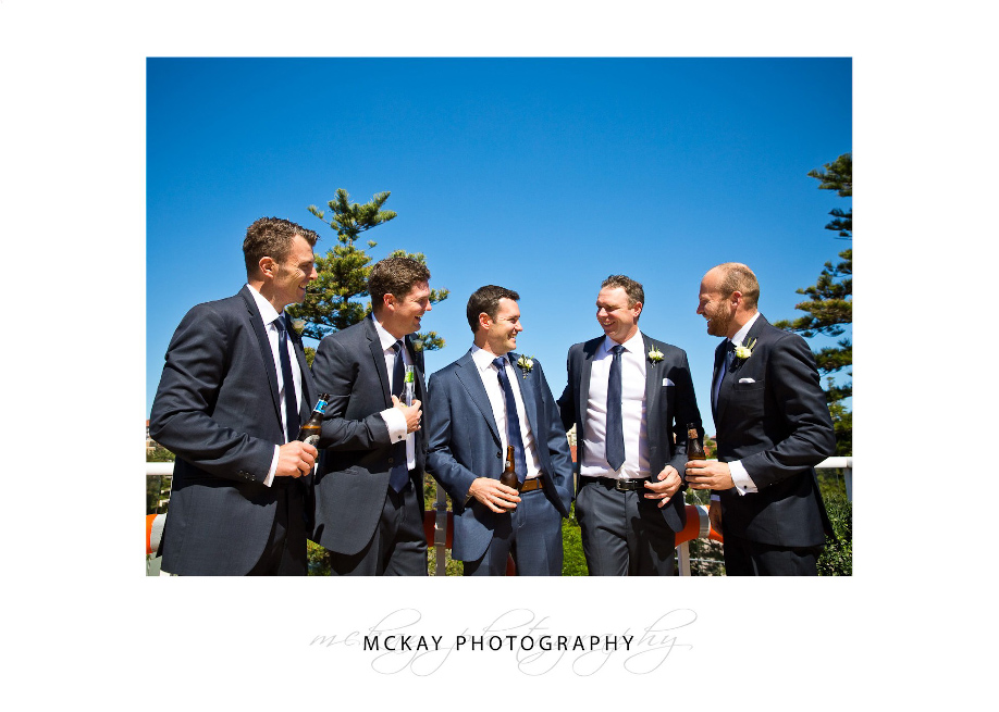Groom and groomsmen preparation photos