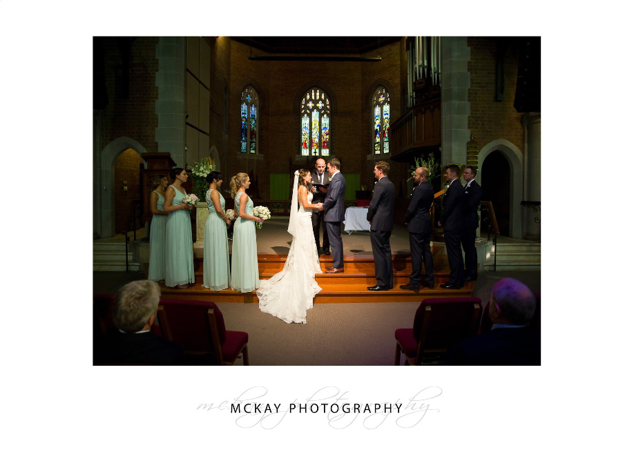 St Matthews Manly wedding