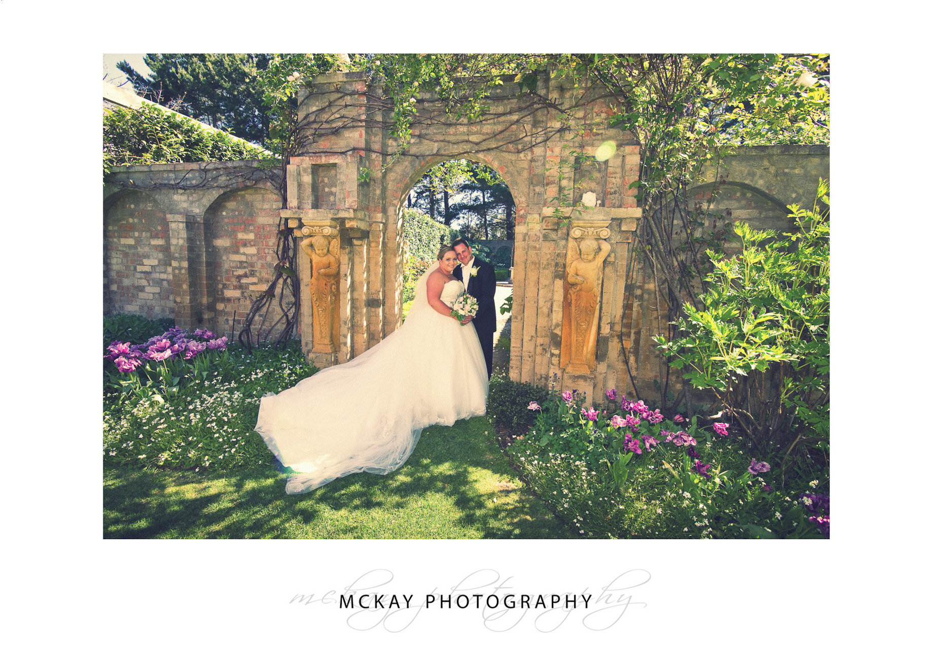 Wedding photo at Red Cow Farm in Sutton Forest