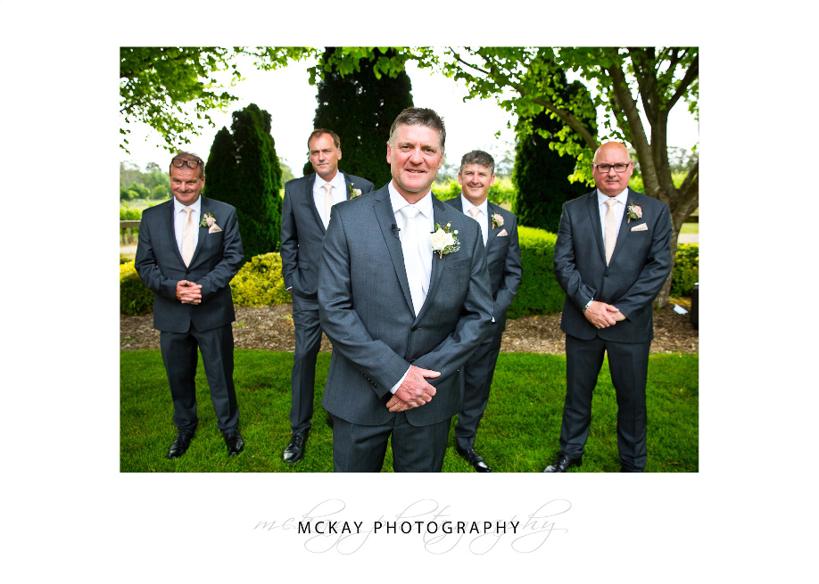 Pete and the groomsmen