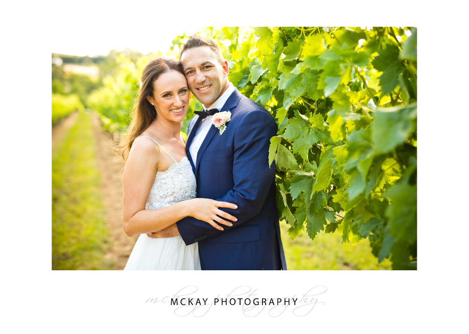 Liz & Jamie at Centennial Vineyards Bowral wedding