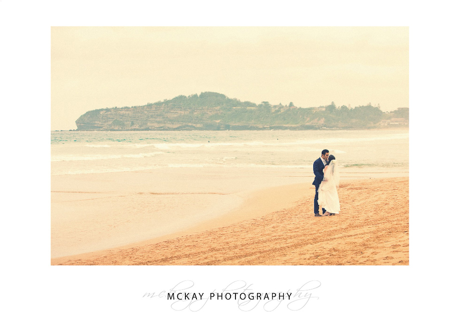 Mona Vale Beach wedding photo