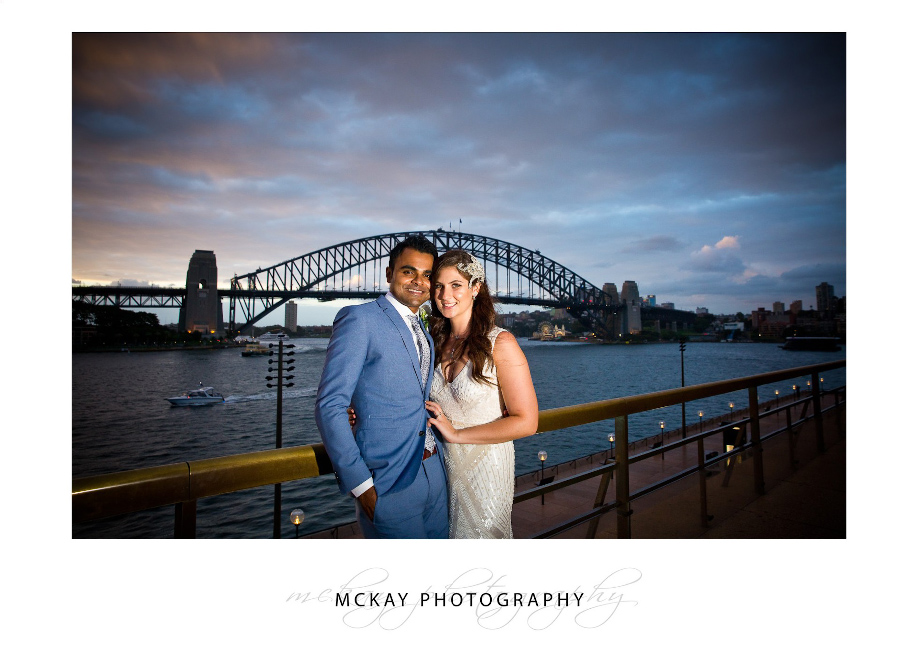 Bianca Amit wedding Harbour Bridge Sydney