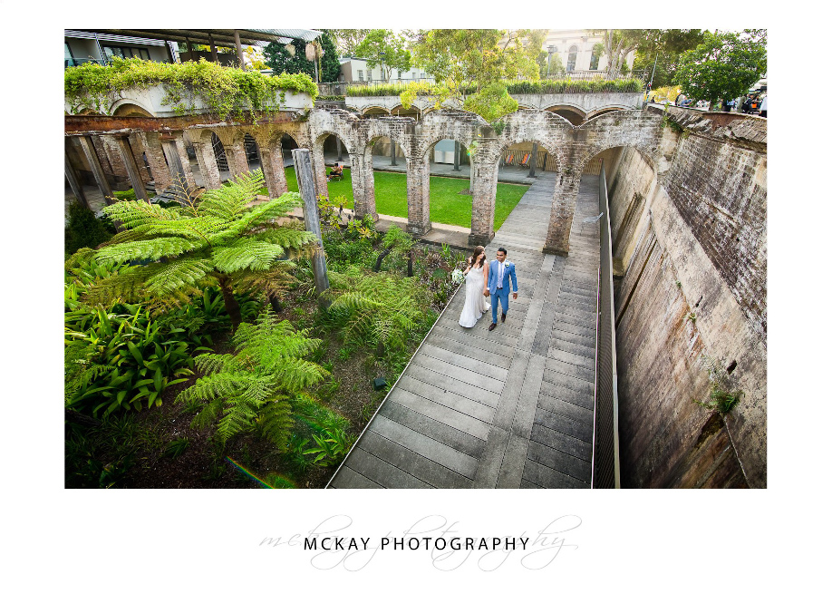 Bianca Amit wedding Paddington Reservoir
