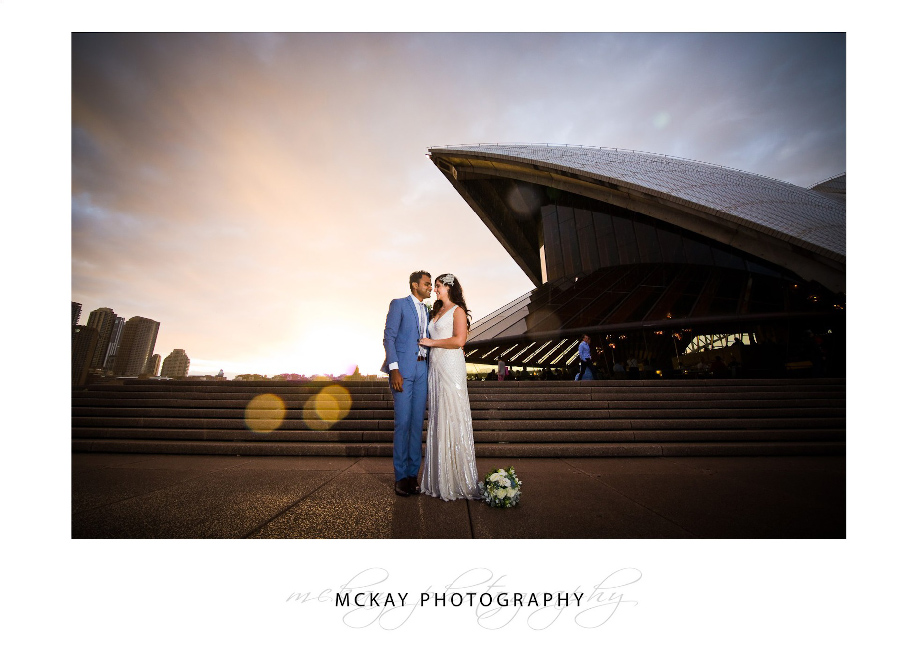 Bianca Amit wedding Opera House Sydney