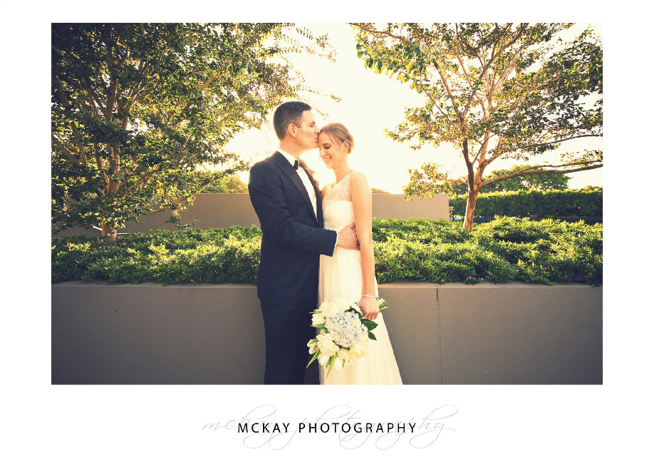 Royal Sydney Golf Club sunset photo wedding