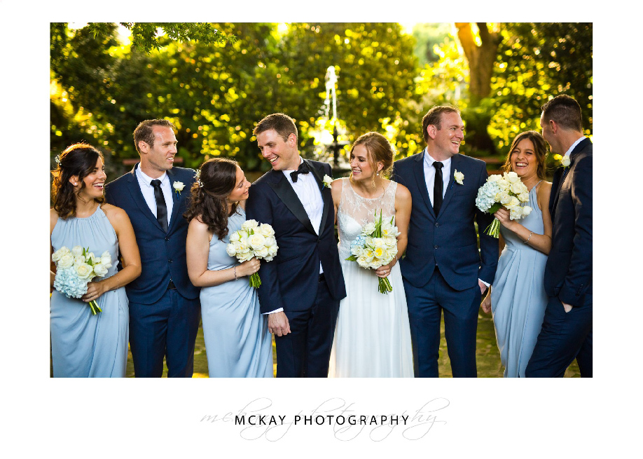 Bridal party at Secret Garden Sydney Royal Golf Club