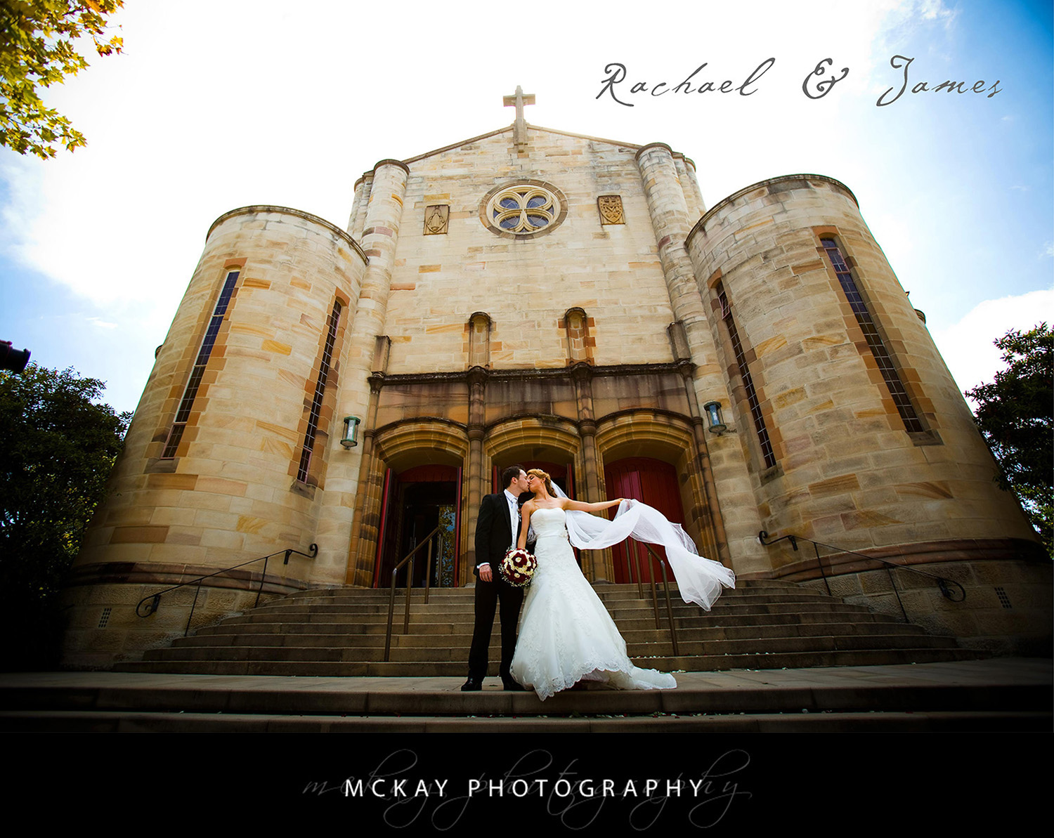 Rachael & James were married at St Mary
