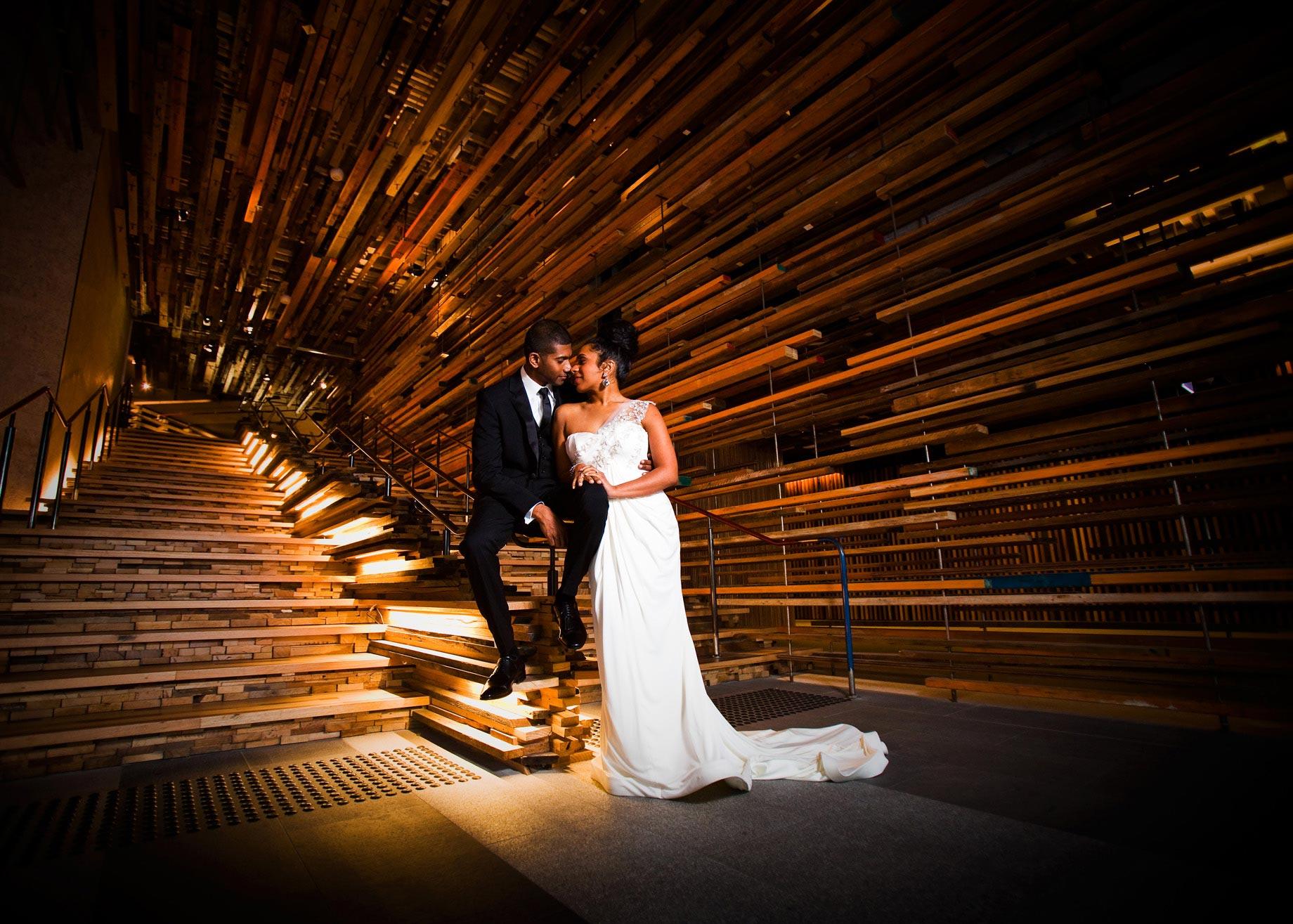 Palace Electric wedding photo