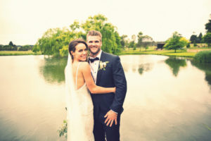 Bendooley Estate wedding lake photo