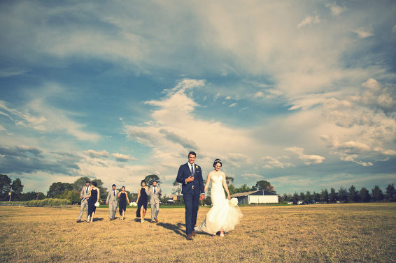 Pialligo Estate wedding Canberra