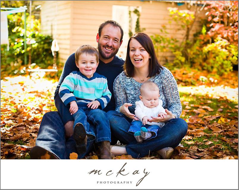 autumn family photos burradoo