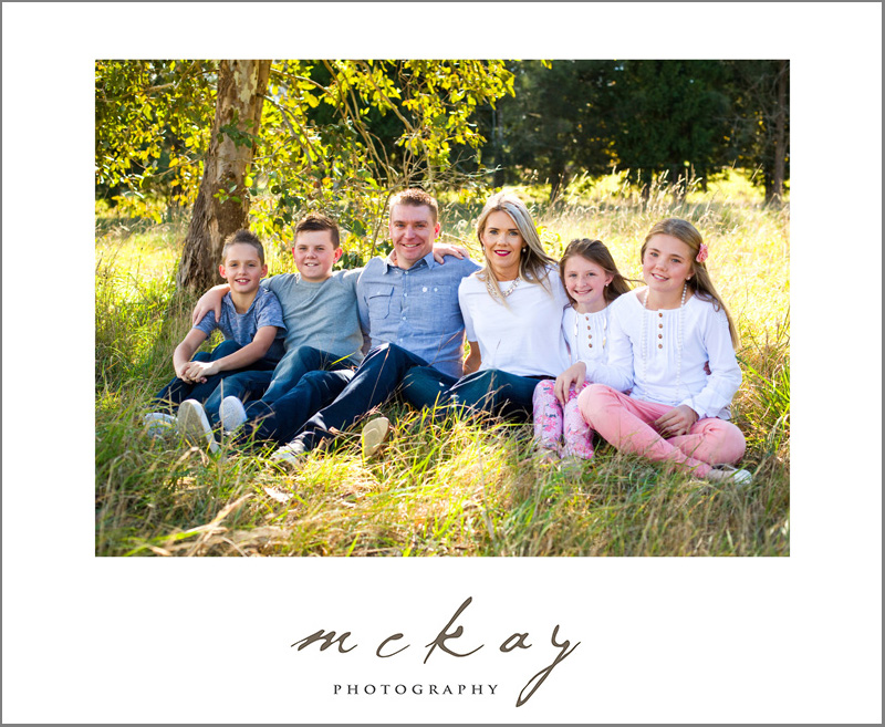 MM family photos in East Bowral