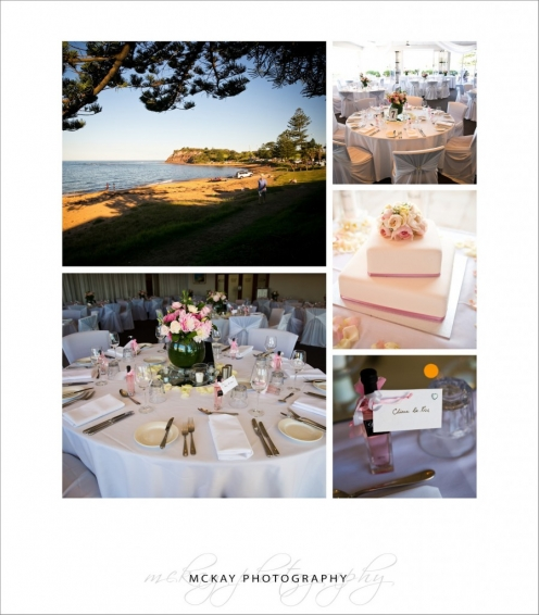 Long Reef Golf Club wedding room details