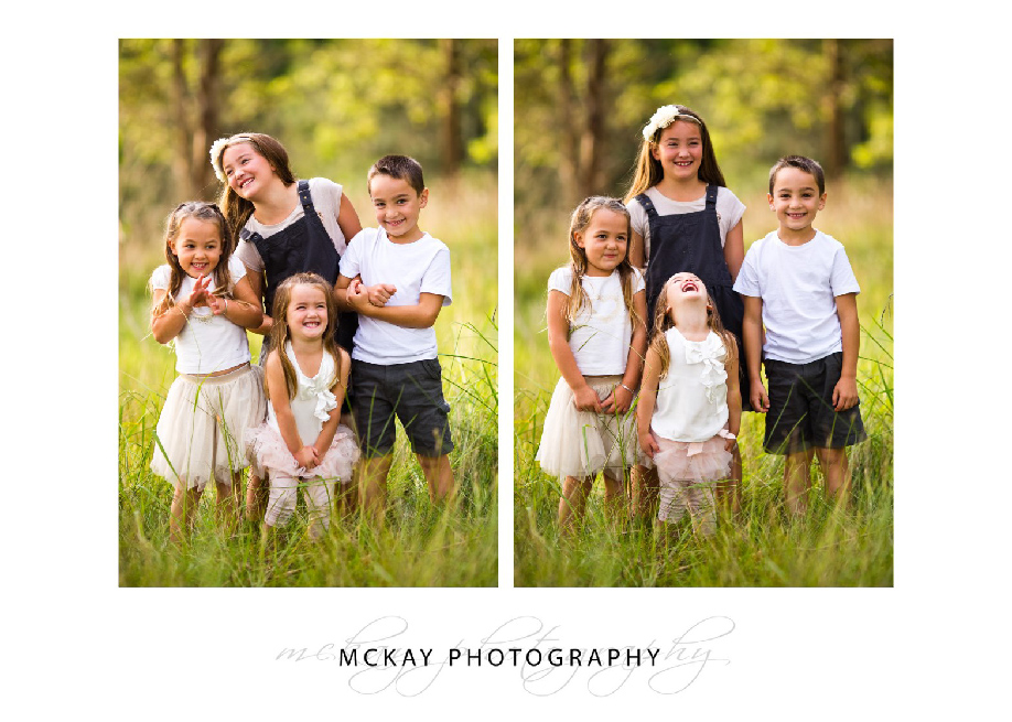 fun family photos Southern Highlands
