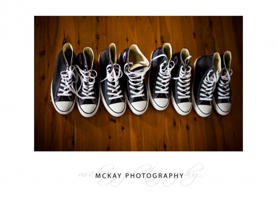 Awesome groom Converse shoes