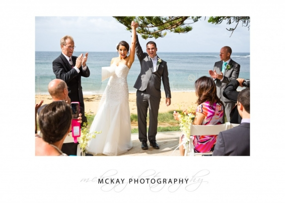 Woohoo married at Long Reef