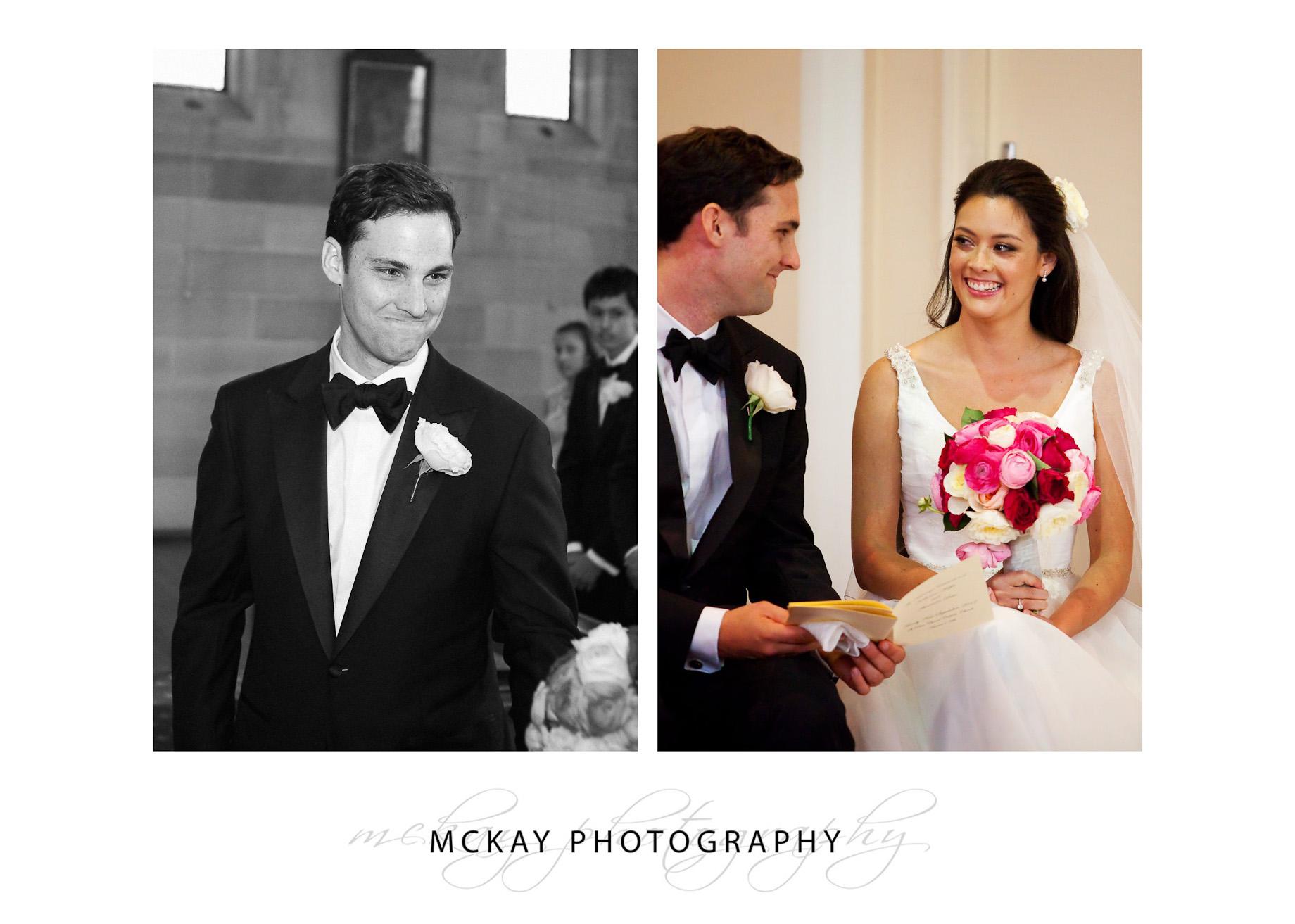 Bride groom St Peter Chanel wedding