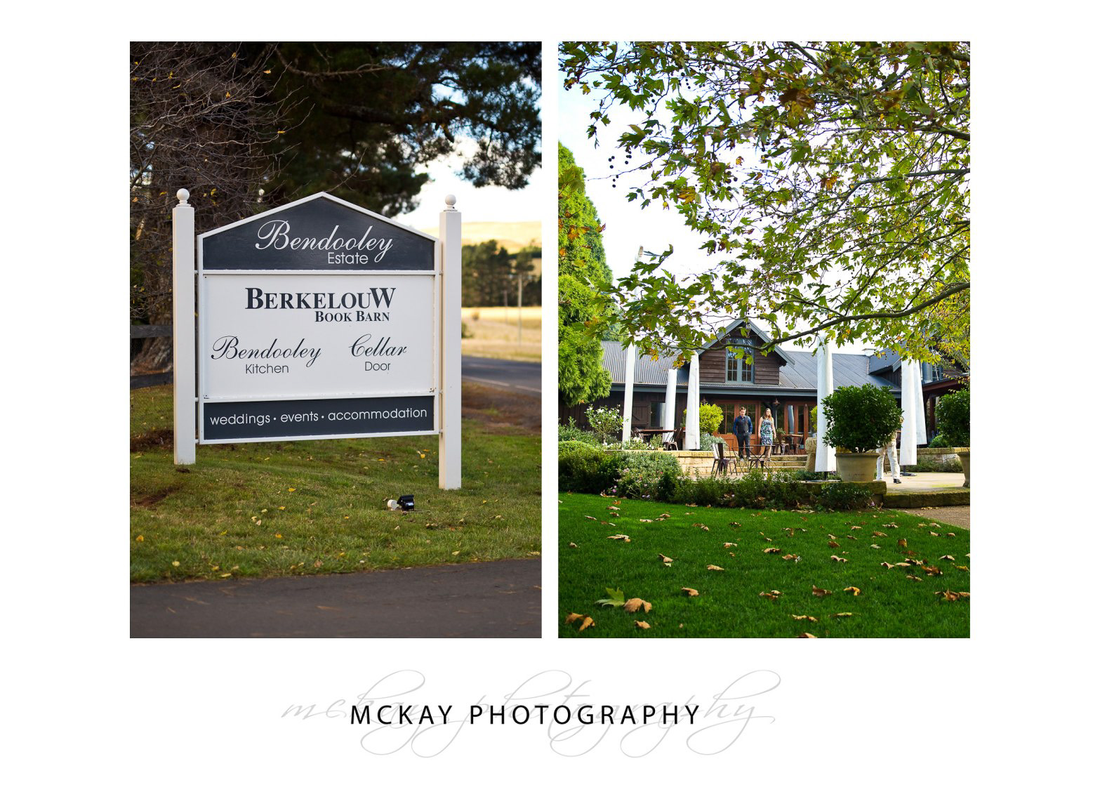Bendooley Estate wedding autumn