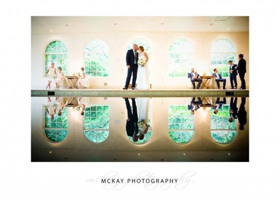 Wedding photo of Milton Park Pool House