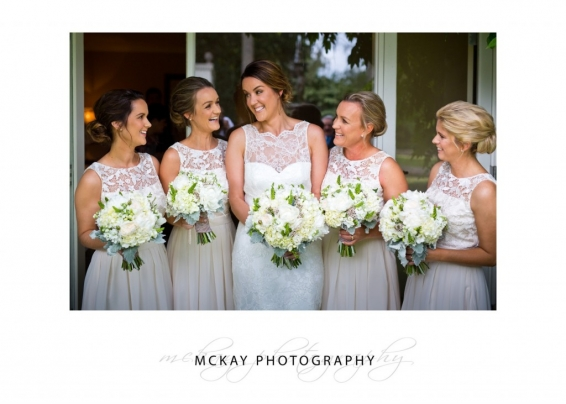Mel and her bridesmaids