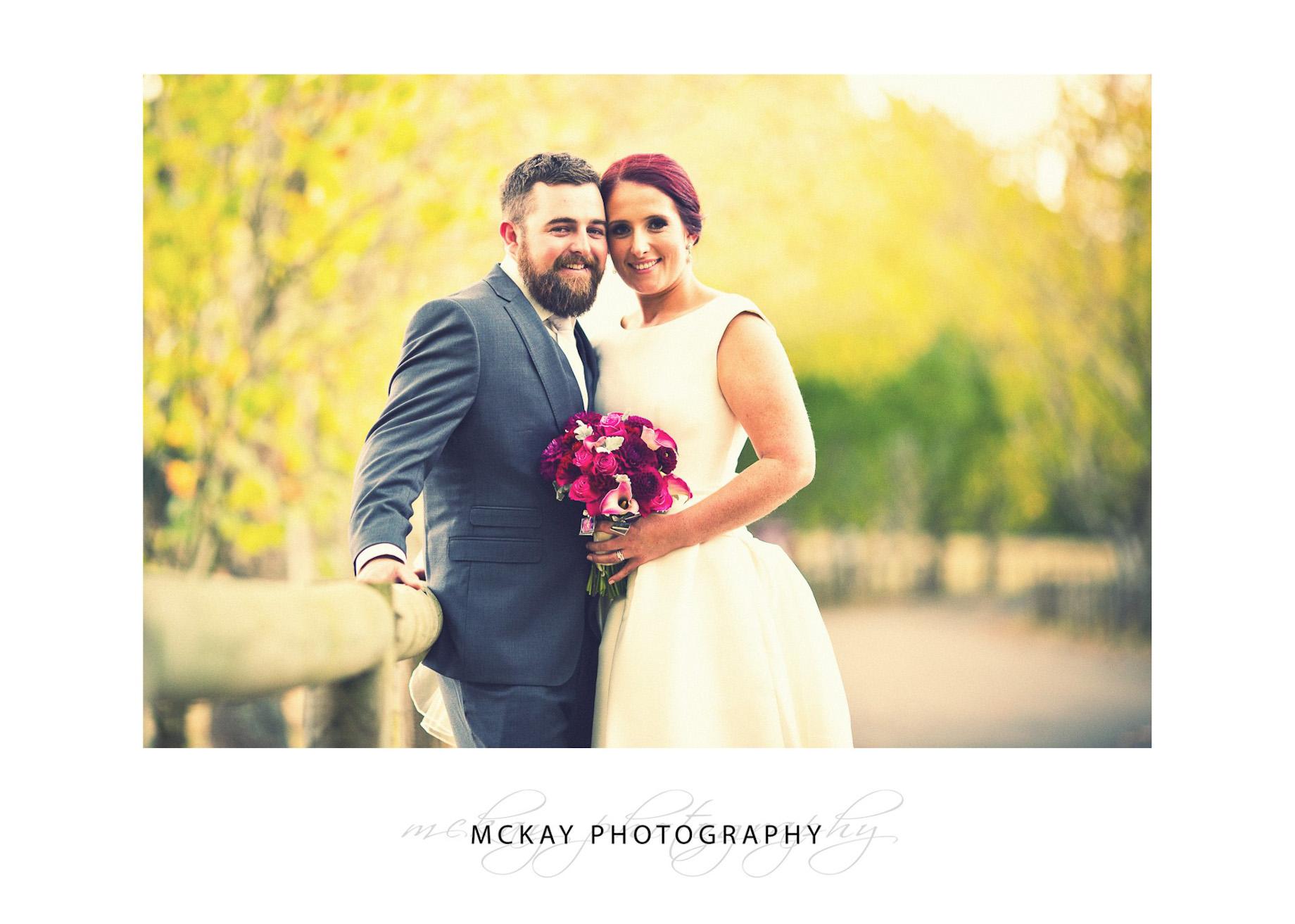Emma & Corey wedding at Chevalier College Bowral