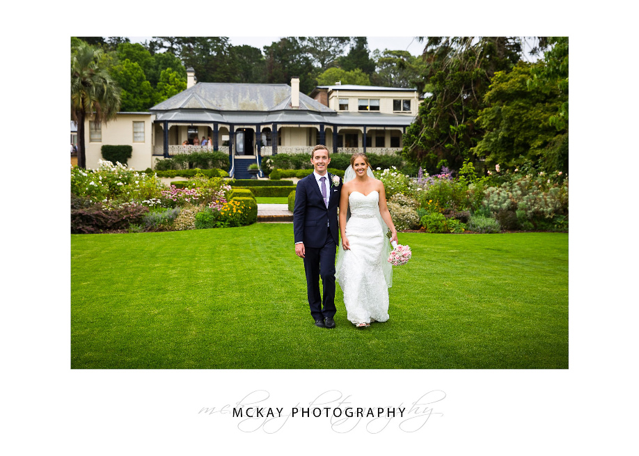Jen & Adam at Peppers Craigieburn Bowral wedding
