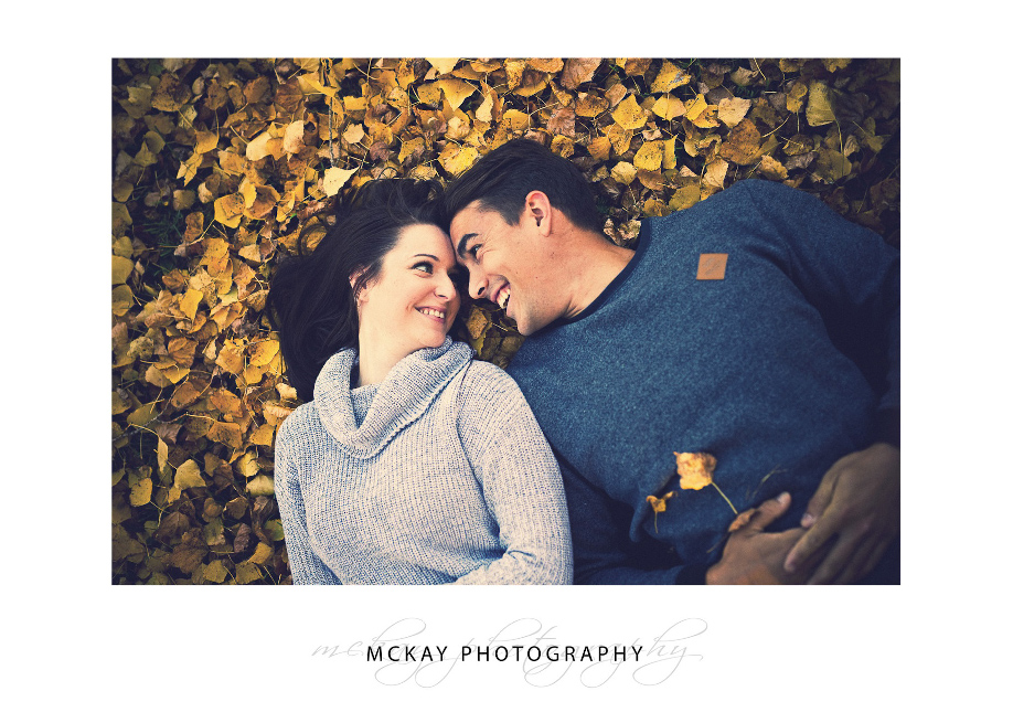 Laura & Stefan Engagement shoot autumn Bowral Briars