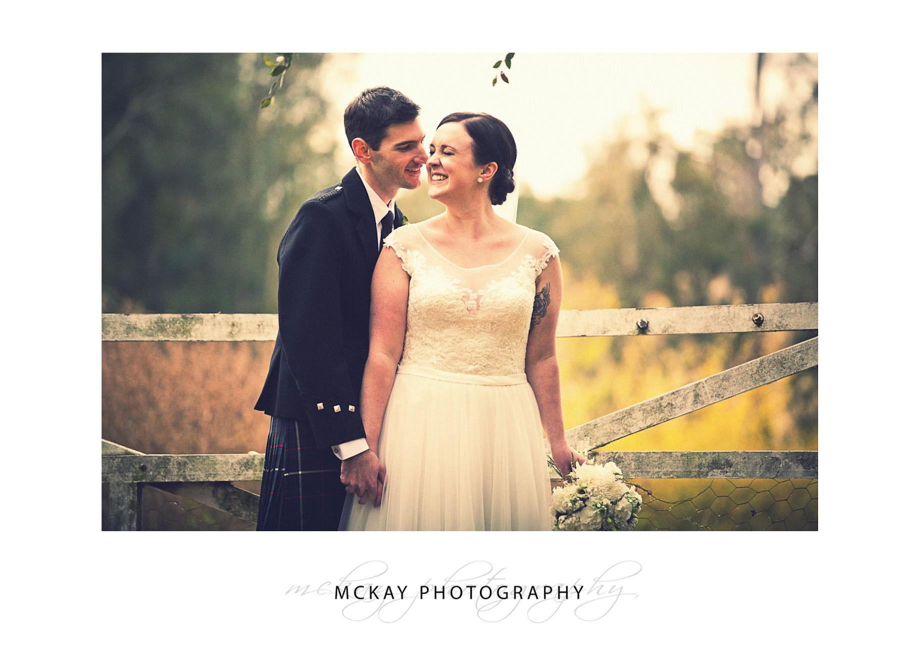 Belle & Stephen wedding Gledswood Homestead and Winery