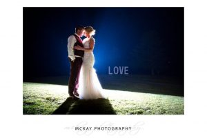Lauren & Adam at Gibraltar Hotel Bowral night shot
