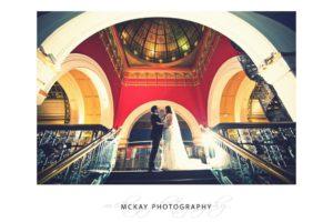 Nicole Luis wedding Tea Room QVB